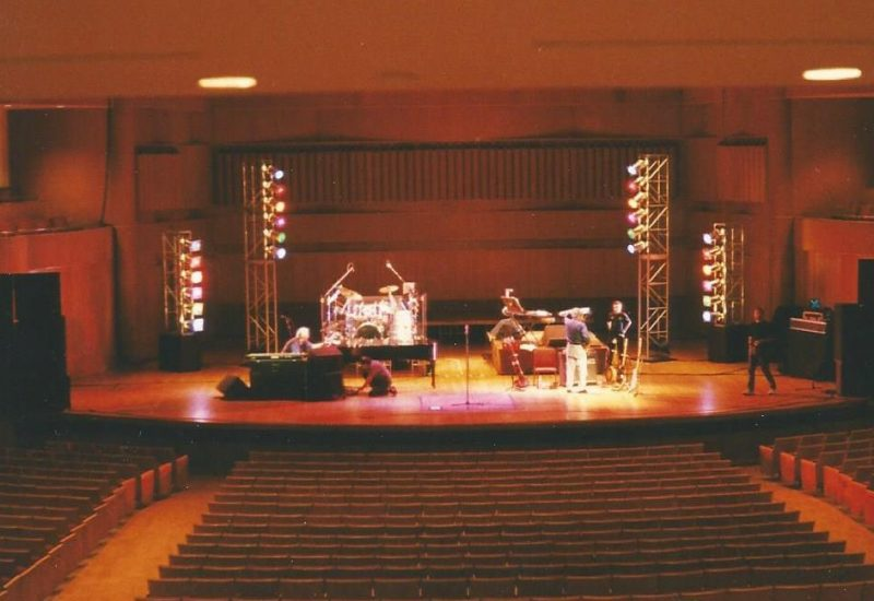 Stage Lighting for Art Garfunkle at the Meyerhoff Symphony Hall in Baltimore
