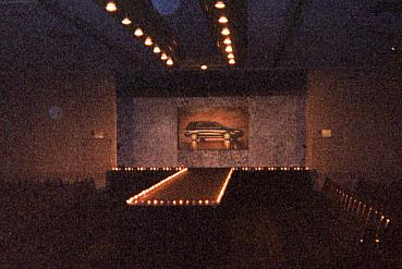 Runway stage with Screen