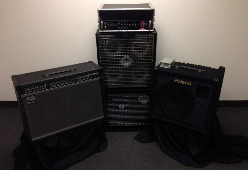 Backline amps